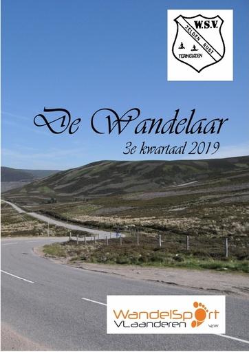 WSV ZR Wandelaar 3e kwartaal 2019
