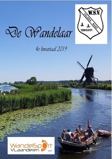 WSV ZR Wandelaar 4e kwartaal 2019